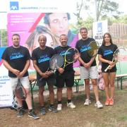 Tournoi de tennis Master entreprises La Teste juin 2015