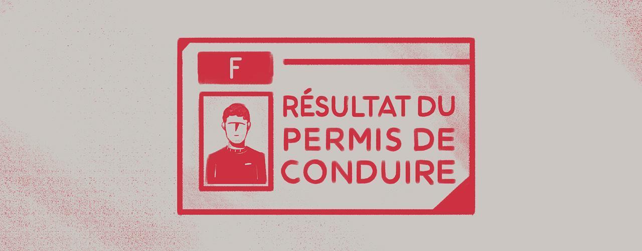 Résultats du permis de conduire